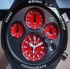 Stolen in Europe: Seiko FIFA 2002 Kinetic Chronograph